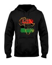 Kings Are Born In May Hooded Sweatshirt thumbnail