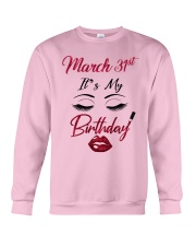 March 31th Crewneck Sweatshirt thumbnail