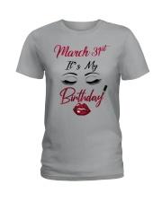 March 31th Ladies T-Shirt thumbnail