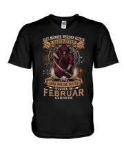 Februar V-Neck T-Shirt thumbnail