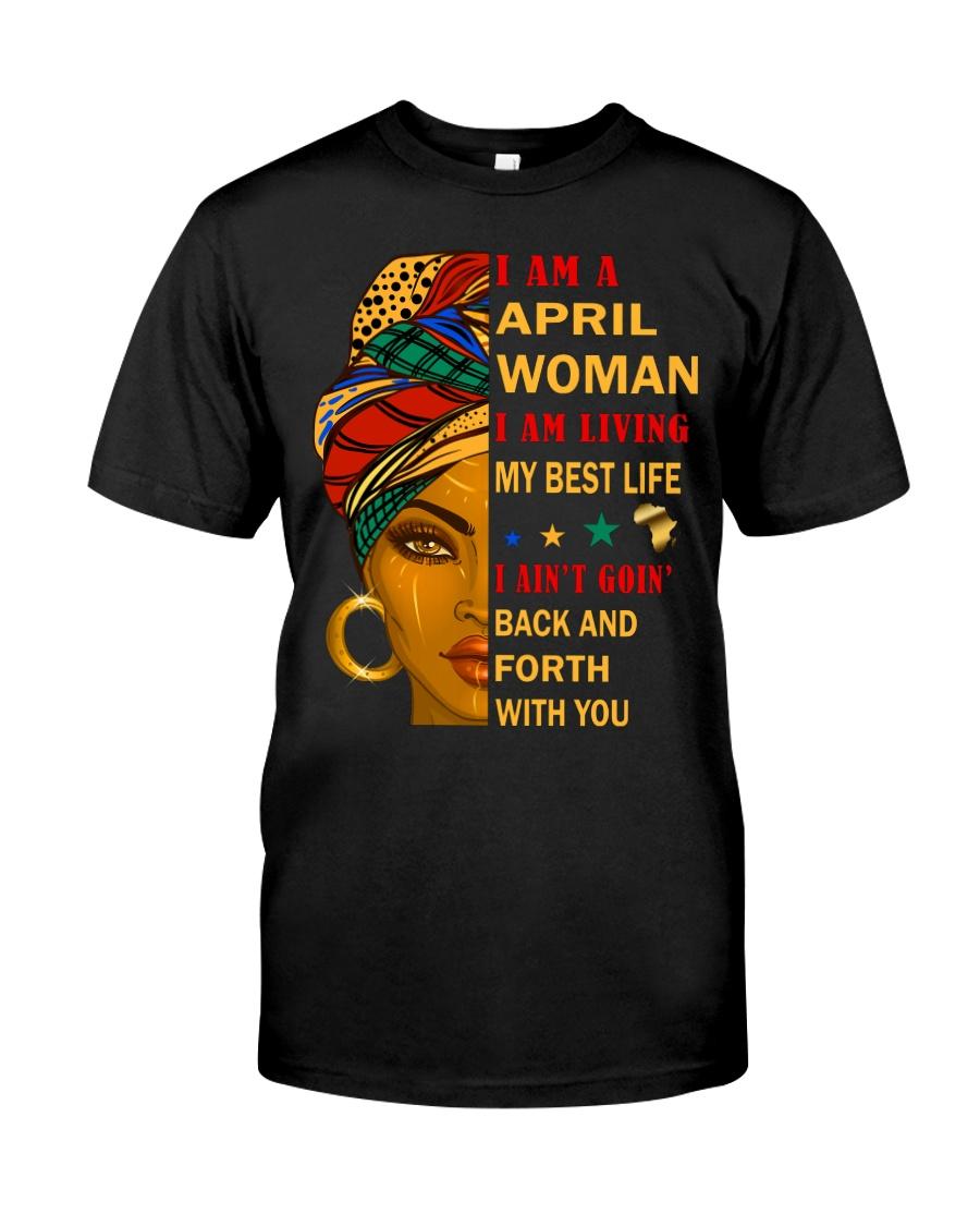 April Woman Classic T-Shirt