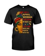 April Woman Classic T-Shirt front