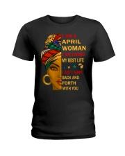April Woman Ladies T-Shirt thumbnail