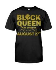 Black Queen August Classic T-Shirt thumbnail