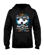 Autism - Is A Journey Hooded Sweatshirt thumbnail