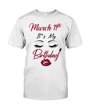 March 11th Classic T-Shirt front