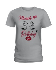 March 11th Ladies T-Shirt thumbnail