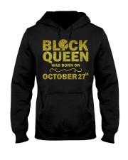 Black Queen October Hooded Sweatshirt thumbnail