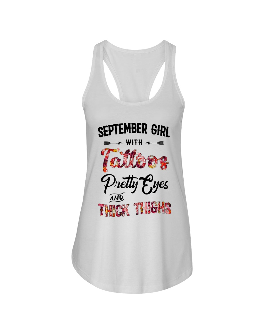 September Girl - Special Edition Ladies Flowy Tank