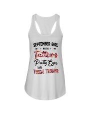 September Girl - Special Edition Ladies Flowy Tank front