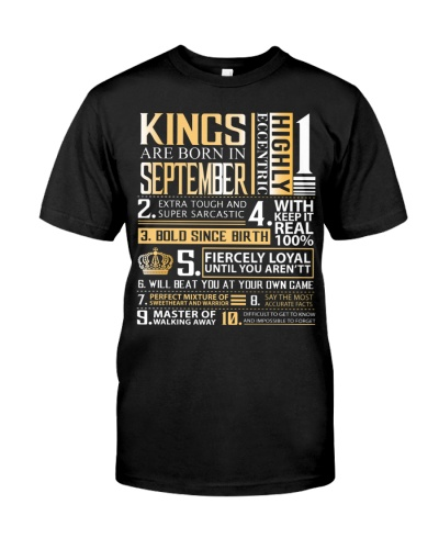 King  September - Limited Edition