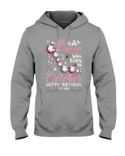 A Queen Was Born In October Hooded Sweatshirt thumbnail