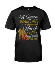 March 12th Classic T-Shirt thumbnail