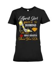 APRIL GIRL Premium Fit Ladies Tee thumbnail