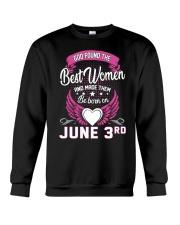 June 3rd Crewneck Sweatshirt thumbnail