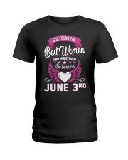June 3rd Ladies T-Shirt thumbnail