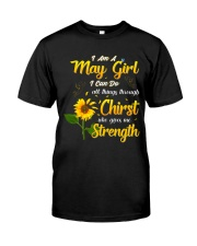MAY GIRL Classic T-Shirt tile