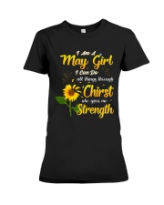 MAY GIRL Premium Fit Ladies Tee tile
