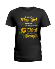 MAY GIRL Ladies T-Shirt thumbnail