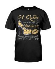 MARCH GIRL Classic T-Shirt thumbnail