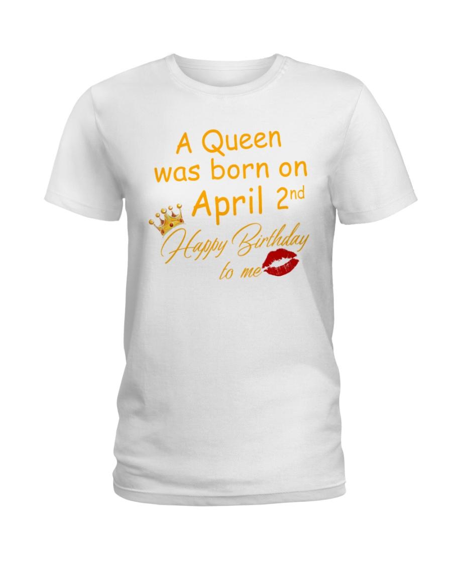 April 2nd Ladies T-Shirt