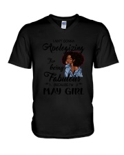 May Girl - Special Edition V-Neck T-Shirt tile