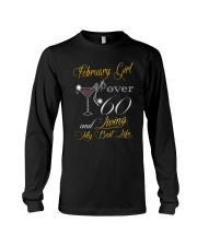 February Girl Over 60 And Living My Best Life Long Sleeve Tee thumbnail