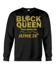Black Queen June Crewneck Sweatshirt thumbnail