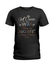August 2nd Ladies T-Shirt thumbnail