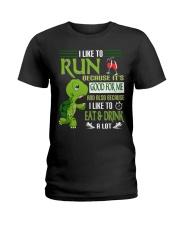 RUNNING Ladies T-Shirt thumbnail