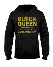 Black Queen December Hooded Sweatshirt thumbnail