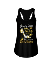 January Queen - Special Edition Ladies Flowy Tank thumbnail