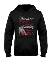 March 10th Hooded Sweatshirt thumbnail