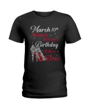March 10th Ladies T-Shirt tile