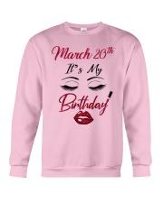 March 20th Crewneck Sweatshirt thumbnail