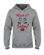 March 20th Hooded Sweatshirt thumbnail