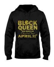 BLACK QUEEN APRIL Hooded Sweatshirt thumbnail