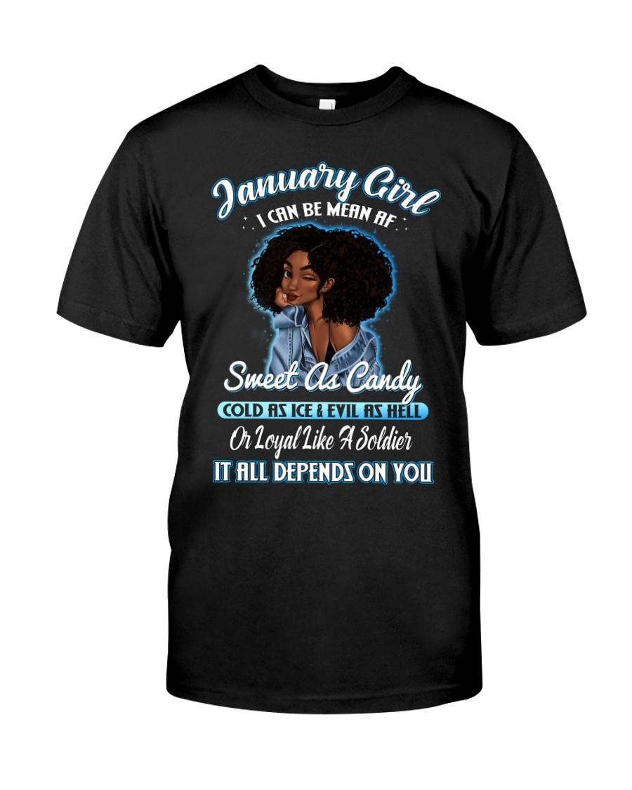 JANUARY GIRL Classic T-Shirt