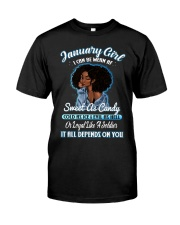 JANUARY GIRL Classic T-Shirt front