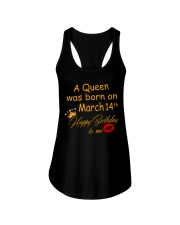 March 14th Ladies Flowy Tank tile