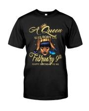 FEBRUARY QUEEN Classic T-Shirt thumbnail