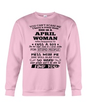 April Woman - Special Edition Crewneck Sweatshirt thumbnail