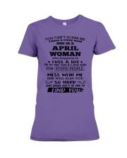 April Woman - Special Edition Premium Fit Ladies Tee thumbnail