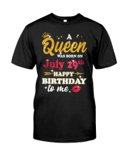 July 29th Classic T-Shirt front