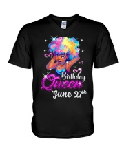 June 27th V-Neck T-Shirt thumbnail