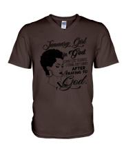 January Girl - Limited Edition V-Neck T-Shirt thumbnail