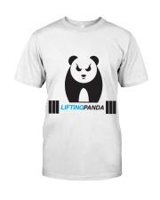 Lifting Panda Classic T-Shirt front