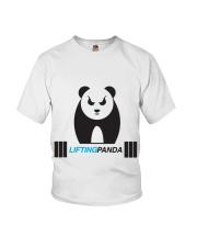 Lifting Panda Youth T-Shirt thumbnail