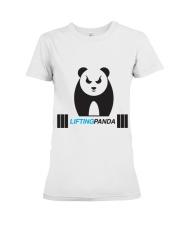 Lifting Panda Premium Fit Ladies Tee thumbnail