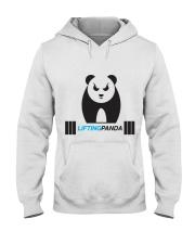 Lifting Panda Hooded Sweatshirt thumbnail
